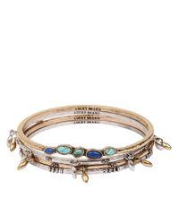 Lucky Brand - Metallic Ombre Bangle Bracelet Set - Lyst