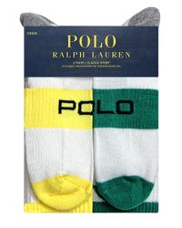 Polo Ralph Lauren | White Classic Sport Sock Set for Men | Lyst