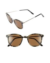 A.J. Morgan | Brown 'bodhi' 47mm Sunglasses | Lyst