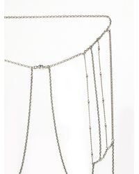 Free People - Metallic Vanessa Mooney Womens Giselle Body Chain - Lyst