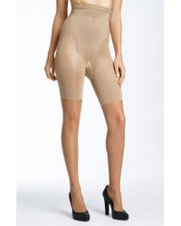 Spanx | Natural 'original' High Waisted Shaping Sheers | Lyst