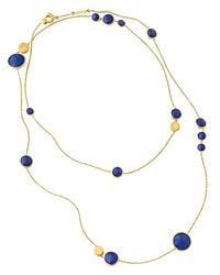 Marco Bicego - Metallic Jaipur Lapis Necklace 36 - Lyst