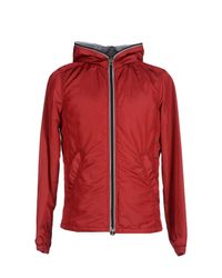 Duvetica | Red Down Jacket for Men | Lyst