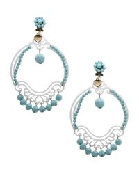 Mercantia | Blue Earrings | Lyst