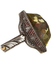 Sevan Biçakci - White Theodora Love Birds Ring - Lyst