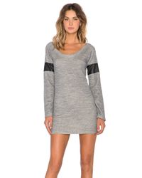Insight - Gray Daria Sweater Dress - Lyst
