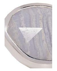 Monica Vinader - Metallic Siren Sterling Silver Agate Ring - Lyst