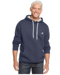 Champion | Blue Men's Fleece Pullover Hoodie for Men | Lyst