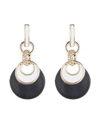 Alexis Bittar - Black Encrusted Infinity Link Dangle Post Earrings You Might Also Like - Lyst
