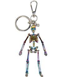 Alexander McQueen | Multicolor Skeleton Keychain for Men | Lyst