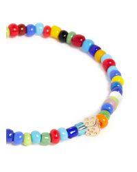 Luis Morais - Multicolor Dice Charm Multicolour Bead Bracelet for Men - Lyst