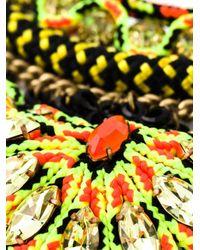 Sveva Collection | Multicolor Cord Beaded Handmade Necklace | Lyst