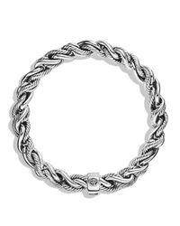 David Yurman | Metallic Woven Cable Bracelet for Men | Lyst