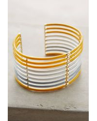 Elizabeth and James | Yellow Jean Cuff | Lyst