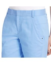 Ralph Lauren Golf - Blue Cotton-blend Short - Lyst