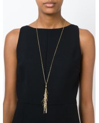 Isabel Marant | Metallic Tassel Necklace | Lyst