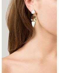 Lizzie Fortunato - Multicolor Geometric Earrings - Lyst