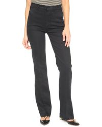Mother - Black The Hustler Prep Jeans - Lyst