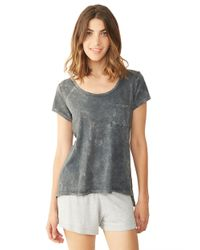 Alternative Apparel | Gray Slub Favorite Tee | Lyst