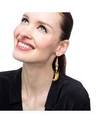 Lulu Frost - Metallic Cleo Earring - Lyst