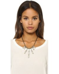 Auden | Metallic Hailey Necklace | Lyst