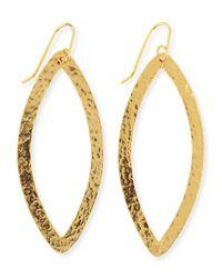 Stephanie Kantis | Metallic Paris 24k Gold-plated Eye Earrings | Lyst