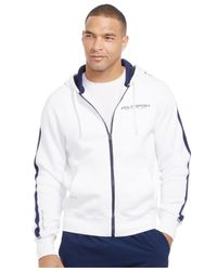 Polo Ralph Lauren | White Polo Sport Fleece Hoodie for Men | Lyst