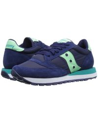 Saucony | Blue Jazz Original | Lyst