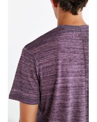 Alternative Apparel | Purple Journeyman Tee for Men | Lyst