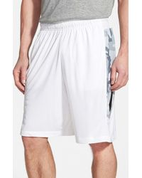 Nike | White 'hyperspeed' Camo Dri-fit Training Shorts for Men | Lyst