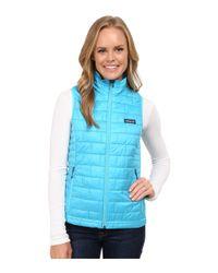Patagonia | Blue Nano Puff® Vest | Lyst