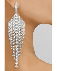 Tom Binns   Metallic Animal Collective Silver-Plated Swarovski Crystal Earrings   Lyst