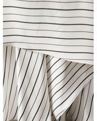 Chloé - White Draped Maxi Skirt - Lyst