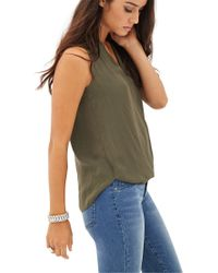 Forever 21 - Green Contemporary Standout Swiss Dot Top - Lyst