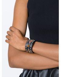 Givenchy | Brown Studded Bracelet | Lyst