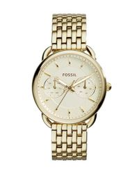 Fossil | Metallic 'tailor' Multifunction Bracelet Watch | Lyst