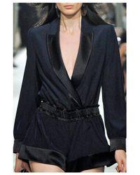 Alexis Mabille | Black Smoking Jacket | Lyst