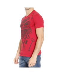 Frankie Morello | Red T-shirt for Men | Lyst