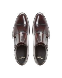 Dune Black | Red Ravenclaw Toecap Double Monk for Men | Lyst