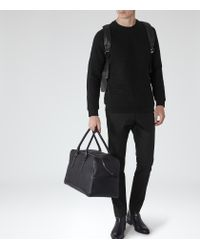 Reiss | Black Troy Patterned Sweatshirt for Men | Lyst