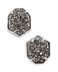 Kendra Scott - Metallic 'taylor' Stud Earrings - Lyst