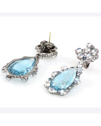 Arunashi - Blue Moonstone Earrings - Lyst