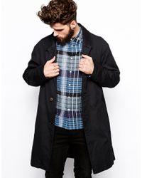 Nudie Jeans | Black Nudie Sander Over Coat for Men | Lyst