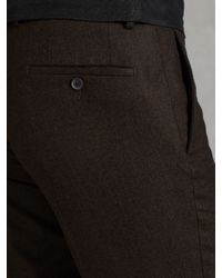 John Varvatos - Brown Austin Slim Fit for Men - Lyst