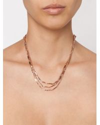 Eddie Borgo | Metallic Multi Strand Bar Necklace | Lyst