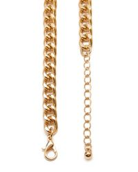 Forever 21 - Metallic Geo Chain Necklace - Lyst