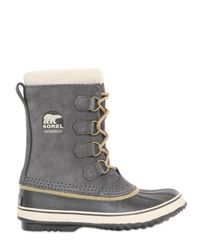 Sorel | Gray 1964 Pac Leather Boots for Men | Lyst