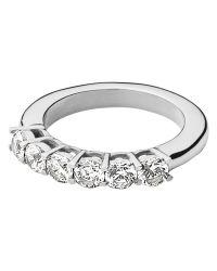 Dyrberg/Kern - Metallic Dyrberg/kern Cubic Zirconia Stacking Ring - Lyst