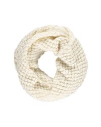 Forever 21 - Natural Bubble Knit Infinity Scarf - Lyst