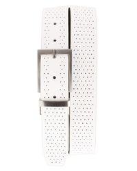 Nike | White Reversible Leather Belt for Men | Lyst
